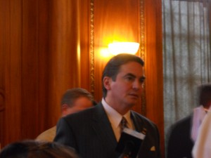 Mayor Domenic Sarno in 2012. (WMassP&I)