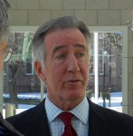 Former mayor and current US Rep Richard Neal in 2011. Still a rarity in Springfield politics. (WMassP&I)