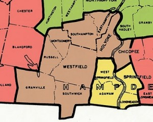 Second Hampden & Hampshire in 1994 under which Knapik was first elected.  The district did not have Tolland, Blandford or Chester at this point. (via malegislature.gov)