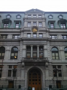 The John Adams Courthouse in Boston. The Appellate Court turned back an appeal to stop the biomass plant. (WMassP&I)