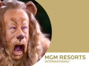 """""""I hope my strength holds out!"""" Real opposition may be MGM's toughest obstacle (created via MGM Studios/MGM Resorts images)"""