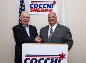 Former Springfield Mayor Charles Ryan endorsed Nick Cocchi on July 27. (courtesy Cocchi campaign)