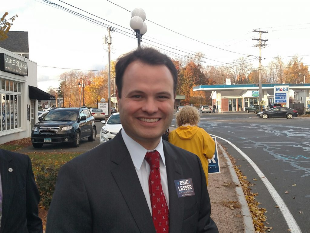Eric Lesser for the 1st Hampden & Hampshire Senate district (WMassP&I)